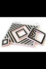 pinkfresh studios Nested Diamond Stamp