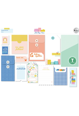 pinkfresh studios Let's stay home: Journaling bits