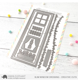 Mama elephant Slim Window Dressing Die