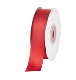 FSJ Satin Ribbon: Candy Apple