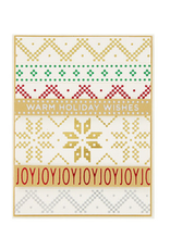 spellbinders Christmas Border Greetings (Glimmer Hot Foil Plate)
