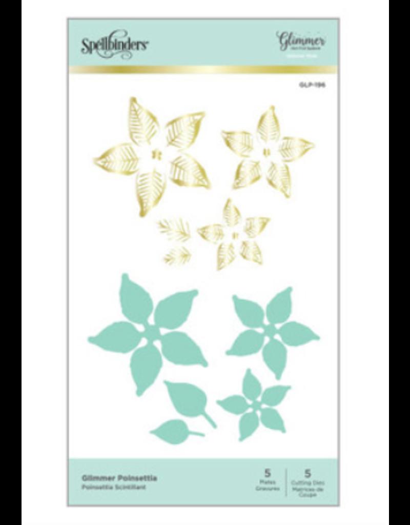 spellbinders Glimmer Poinsettia Die Set (Glimmer Hot Foil Plate)