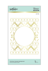 spellbinders Christmas Sweater Background (Glimmer Hot Foil Plate)