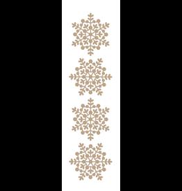 spellbinders Snowflake Sparkle Border (Glimmer Hot Foil Plate)