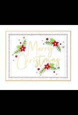 spellbinders Stylish Script Merry Christmas (Glimmer Hot Foil Plate)
