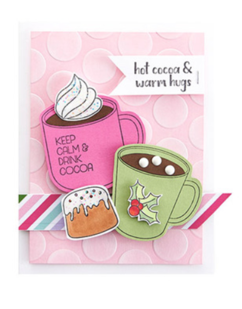 FSJ Cups of Cocoa Stamp