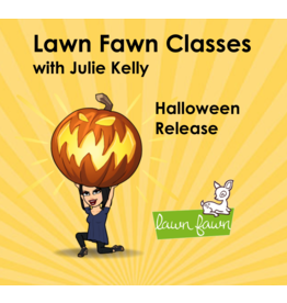 Julie Kelly 10/04 Halloween Lawn fawn with Julie