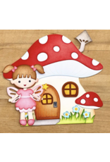 Elizabeth Crafts Fairy 1 Die