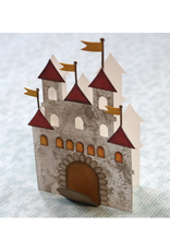 Elizabeth Crafts Castle Folding Card Die
