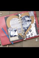 Elizabeth Crafts Planner Essentials 20 - Half Heart Page Set