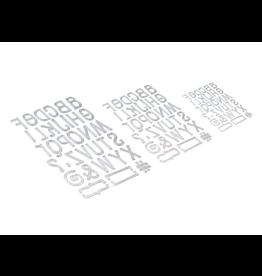 Elizabeth Crafts Planner Essentials 23 - Retro Alphabet Trio