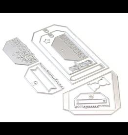 Elizabeth Crafts Planner Essentials 26 - Planner Pocket 3 - Tag & Toppers