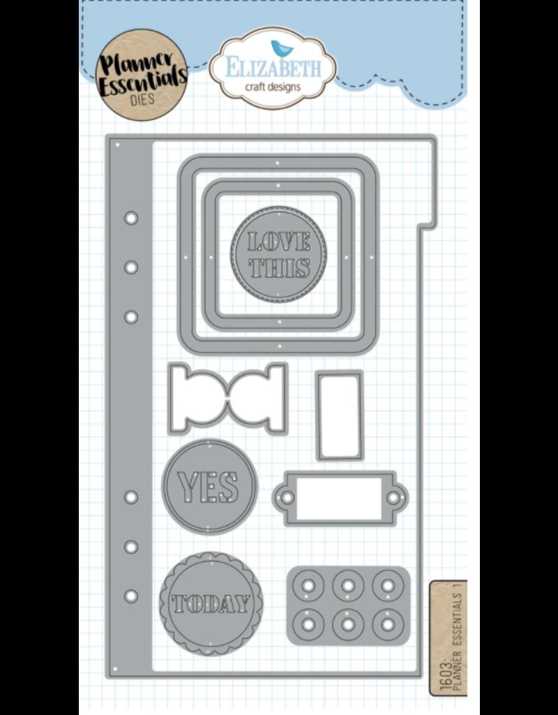 Elizabeth Crafts Planner Essentials - 1