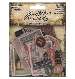 Tim Holtz Halloween Snippets Ephemera pack