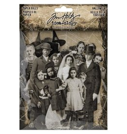 Tim Holtz 2020 Halloween Paper Dolls pack
