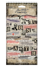 Tim Holtz CURIOSITIE-STICKER BOOK