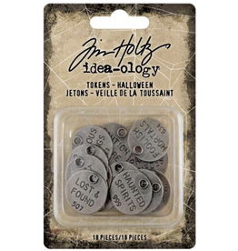 Tim Holtz 2020 Halloween: QUOTE TOKENS I