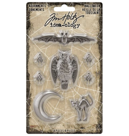 Tim Holtz 2020 Halloween: ADORNMENTS