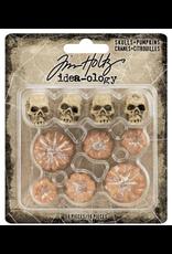 Tim Holtz 2020 Halloween: SKULLS/PUMPKN