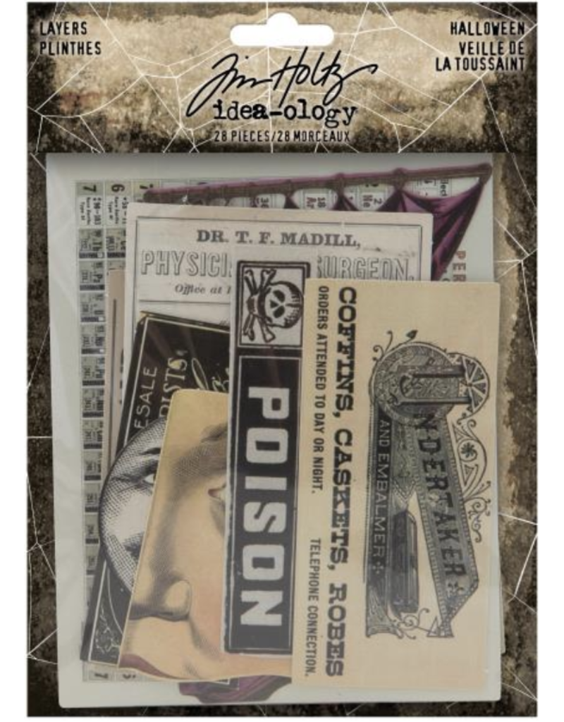 Tim Holtz 2020 Halloween: LAYERS