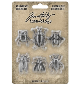 Tim Holtz 2020 ENTOMOLOGY-ADORNMENTS