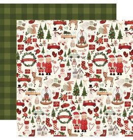 Carta Bella Hello Christmas Paper: Merry Christmas