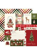 Carta Bella Hello Christmas Paper: Journaling Cards