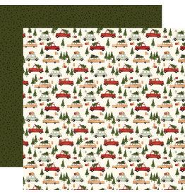 Carta Bella Hello Christmas Paper: Christmas Cars