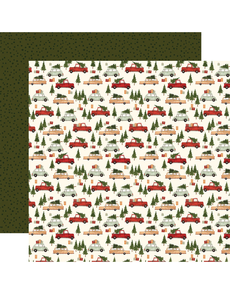 Carta Bella Hello Christmas Paper: Christmas Cars