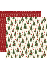 Carta Bella Hello Christmas Paper: Merry Trees