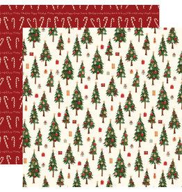 Carta Bella Hello Christmas Paper: Merry Trees