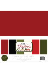 Carta Bella Hello Christmas:  Solids Kit