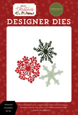 Carta Bella Hello Christmas: Whimsical Snowflakes Die Set