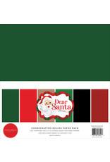 Carta Bella Dear Santa:  Solids Kit