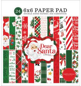 Carta Bella Dear Santa:  6x6 Paper Pad