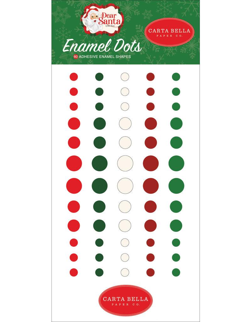 Carta Bella Dear Santa:  Enamel Dots