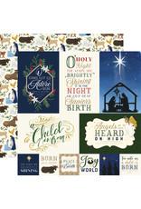 Carta Bella Silent Night Paper: Jounaling Cards