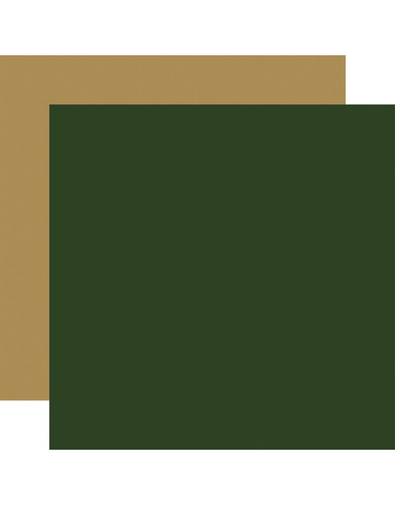 Carta Bella Silent Night Paper: Green / Gold