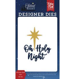 Carta Bella Silent Night: Oh Holy Night Star Die Set