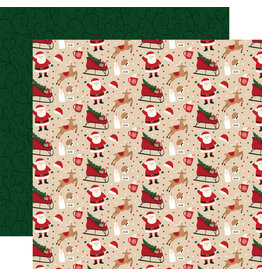 Echo Park Gingerbread Christmas Paper: Cookies for Santa