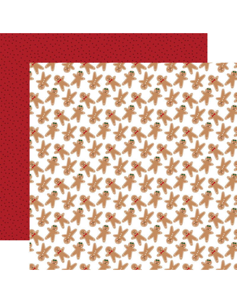 Echo Park Gingerbread Christmas Paper: Gingerbread