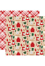 Echo Park Gingerbread Christmas Paper: Kitchen Magic