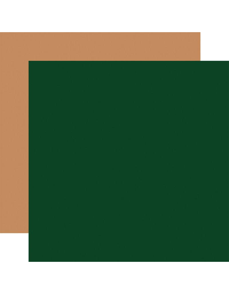 Echo Park Gingerbread Christmas: Green / Tan