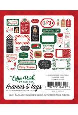 Echo Park Gingerbread Christmas: Frames & Tags