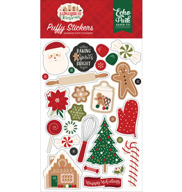 Echo Park Gingerbread Christmas: Puffy Stickers