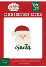 Echo Park Gingerbread Christmas: Jolly Santa Die Set