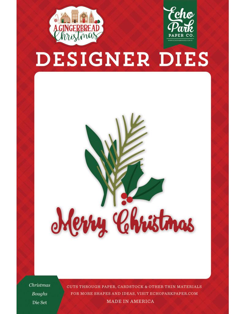 Echo Park Gingerbread Christmas: Christmas Boughs Die Set