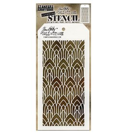 Tim Holtz Deco Arch: Layered Stencil