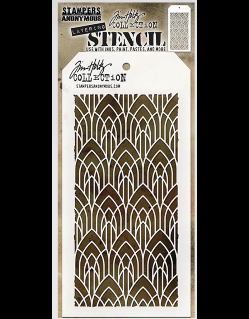 Tim Holtz Deco Arch: Layered Stencil