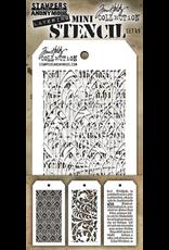 Tim Holtz Mini Layered Stencil Set #49